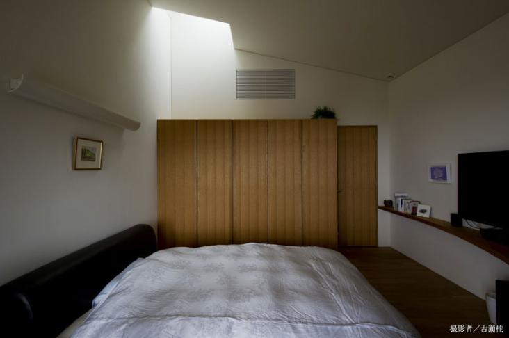 界川の家の写真 ベッドルーム2(撮影:古瀬桂)