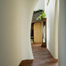 界川の家 (廊下(撮影:古瀬桂))