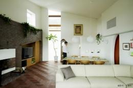 界川の家 (リビングダイニング2(撮影:古瀬桂))