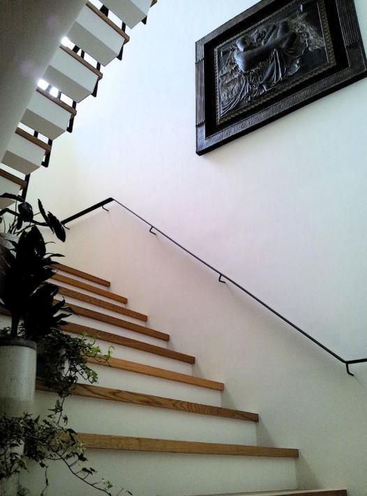 界川の家の写真 階段