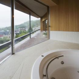 界川の家 (浴室(撮影:古瀬桂))