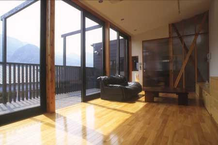 simの部屋 2階リビング(撮影:satoshi asakawa)
