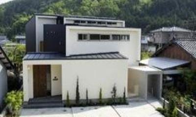 外観1(撮影:EIICHI TAKAYAMA)|岩崎の二世帯住宅