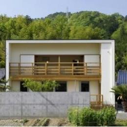 岩崎の二世帯住宅 (外観2(撮影:EIICHI TAKAYAMA))