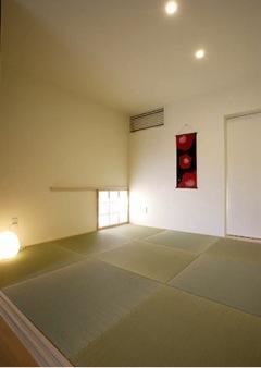 岩崎の二世帯住宅の部屋 親世帯和室(撮影:EIICHI TAKAYAMA)