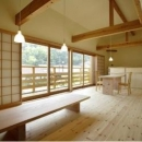 岩崎の二世帯住宅の写真 子世帯リビングダイニング1(撮影:EIICHI TAKAYAMA)