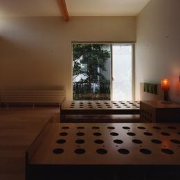 石神井の住宅 古稀庵 (ベッドルーム)