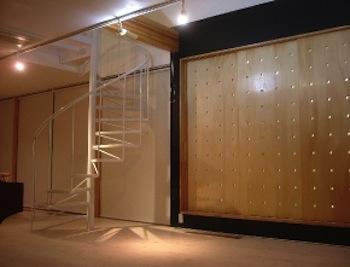 A-Houseの部屋 リビング内螺旋階段2