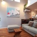 """ジャパンホームの住宅事例「ご夫婦の「こうしたい」を一つひとつ叶えた """"どこを見ても愛おしい家""""」"""