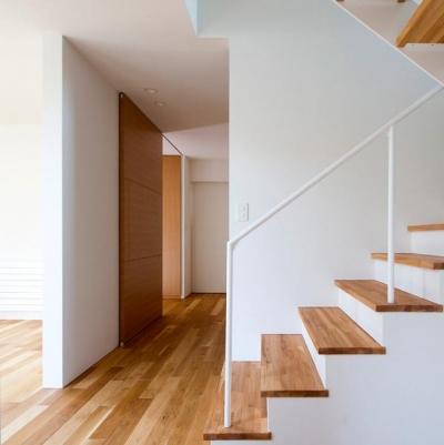 札幌市手稲区W邸 (階段と廊下)