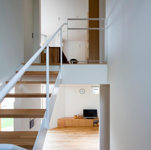 札幌市手稲区W邸の部屋 階段