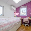 N/HOUSEの写真 子供部屋1(撮影:布施貴彦)