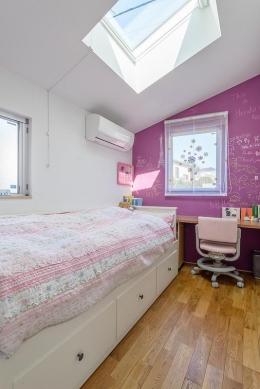 N/HOUSE (子供部屋1(撮影:布施貴彦))