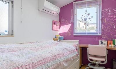 子供部屋1(撮影:布施貴彦) N/HOUSE