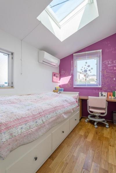 子供部屋1(撮影:布施貴彦) (N/HOUSE)