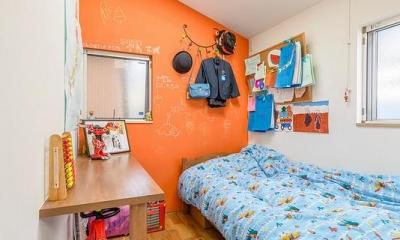 子供部屋2(撮影:布施貴彦)|N/HOUSE