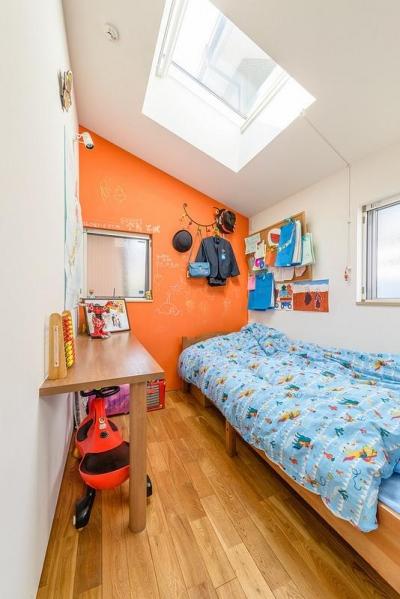 子供部屋2(撮影:布施貴彦) (N/HOUSE)