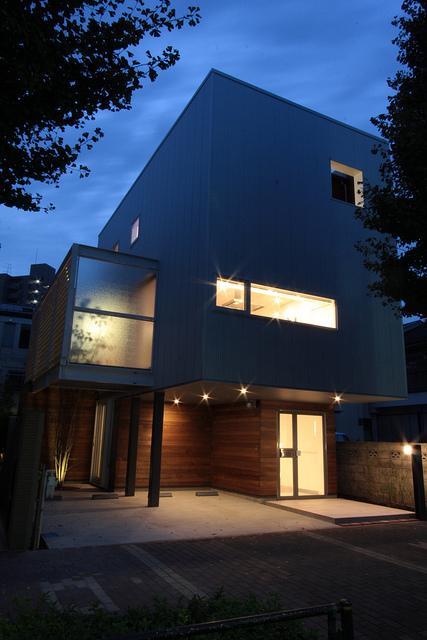 光遊の家の部屋 外観-夜景