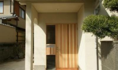 玄関-外|楠葉の家