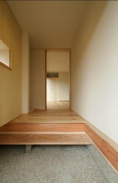 玄関1 (楠葉の家)