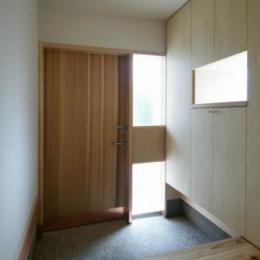楠葉の家 (玄関2)