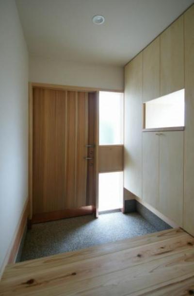 玄関2 (楠葉の家)