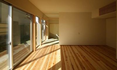 楠葉の家 (明るいリビング1)