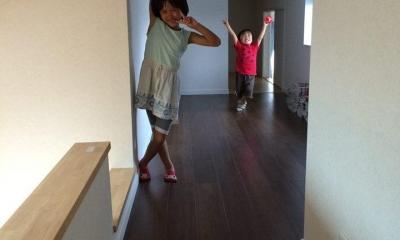 子どもが思いっきり遊べる楽しい家 (ロフト収納)