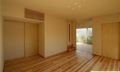 楠葉の家 (明るいリビング2)
