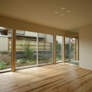 楠葉の家の写真 明るいリビング3