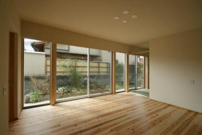 楠葉の家 (明るいリビング3)