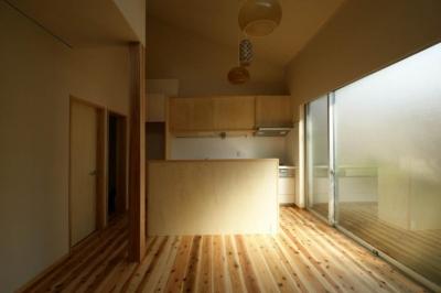 ダイニングキッチン1 (楠葉の家)