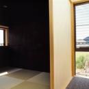 岡部宿の家
