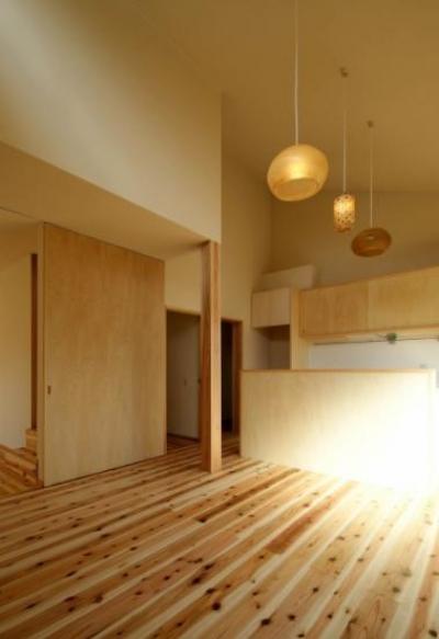 ダイニングキッチン2 (楠葉の家)
