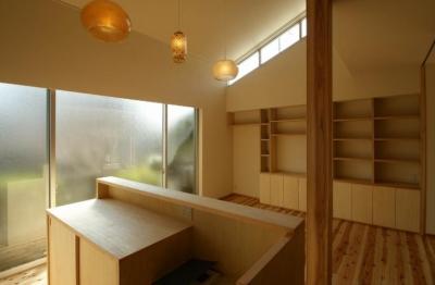 ダイニングキッチン3 (楠葉の家)