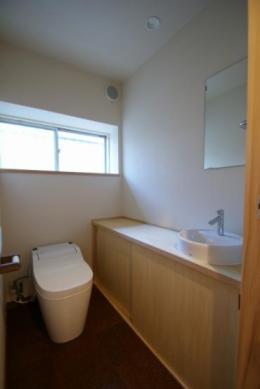 楠葉の家 (トイレ)