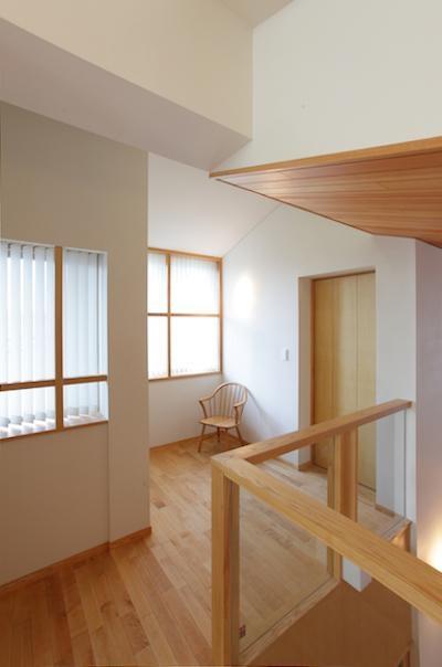 2階階段ホール-2 (SG.house)