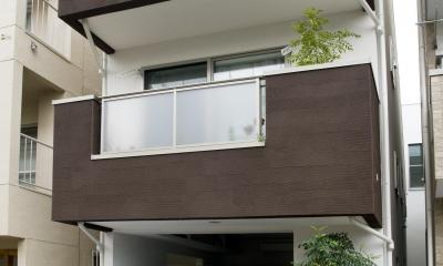 外観|建築面積約9坪でここまで広い家