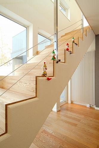 house @ kbの写真 明るい階段室