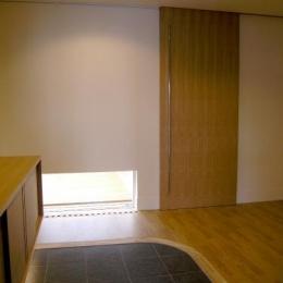 「車椅子対応住宅」 -モビリティハウスの試み- (玄関-廊下入口closed)