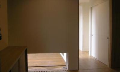 玄関-廊下入口open|house @ fg