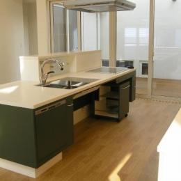 「車椅子対応住宅」 -モビリティハウスの試み- (対面式キッチン)