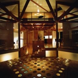 石神井の住宅 古稀庵 (居室)