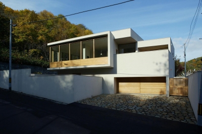 円山西町の家 (外観1)