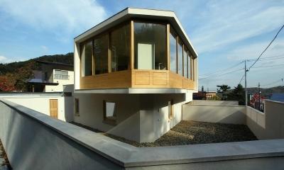円山西町の家 (外観2)