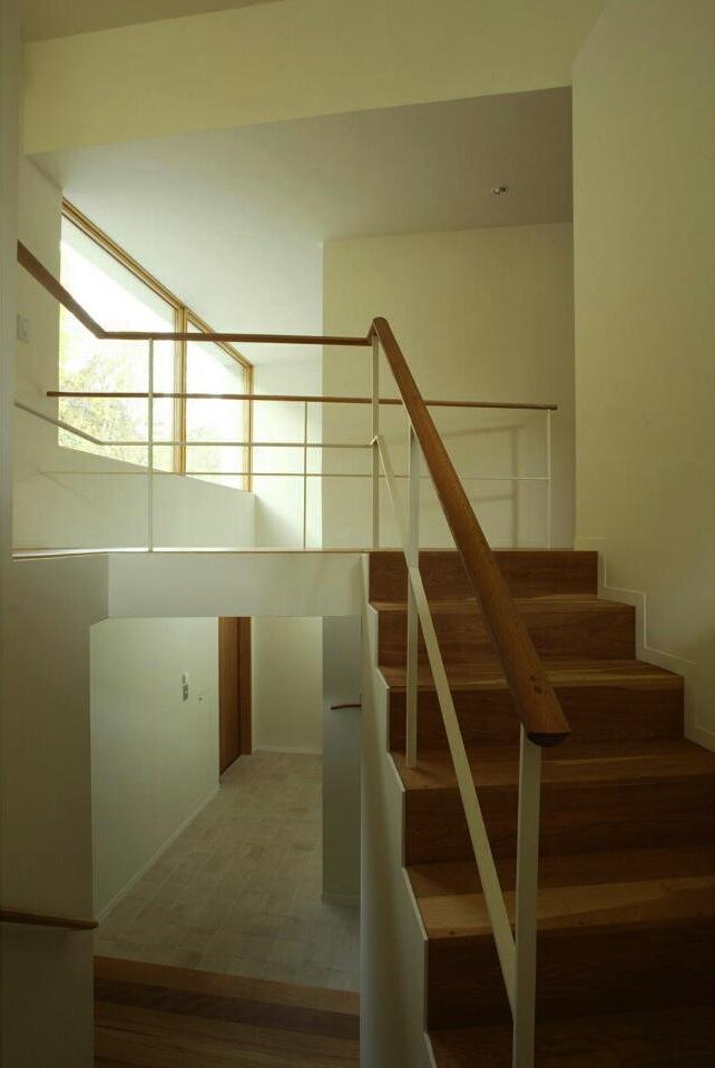 円山西町の家の部屋 階段