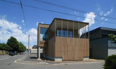 新川の家 (外観2)