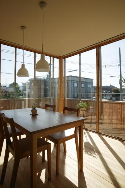 新川の家 (食堂)
