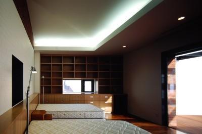 ベッドルーム (函館M邸)