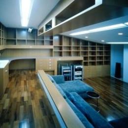 函館M邸 (ホームシアター)